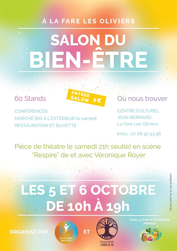 Affiche salon La Fare 2019