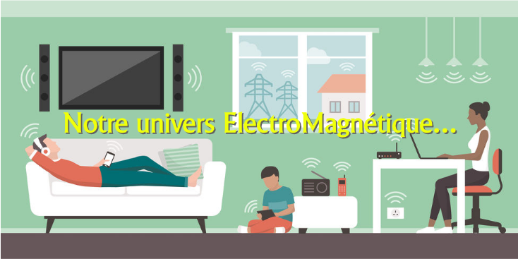 champs électromagnétiques dans la maison