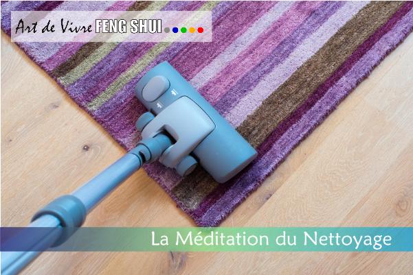 Méditation du nettoyage